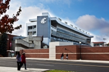 ALSC Architects | Martin Stadium South Side Expansion, Martin Street View