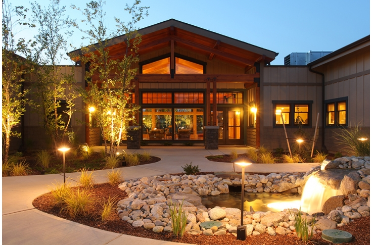 North Spokane Hospice House Alsc Architects