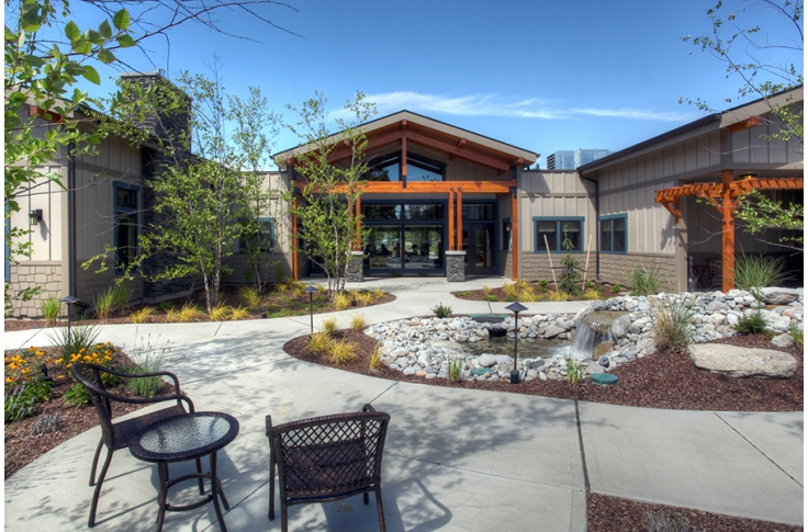 North Spokane Hospice House Alsc Architects