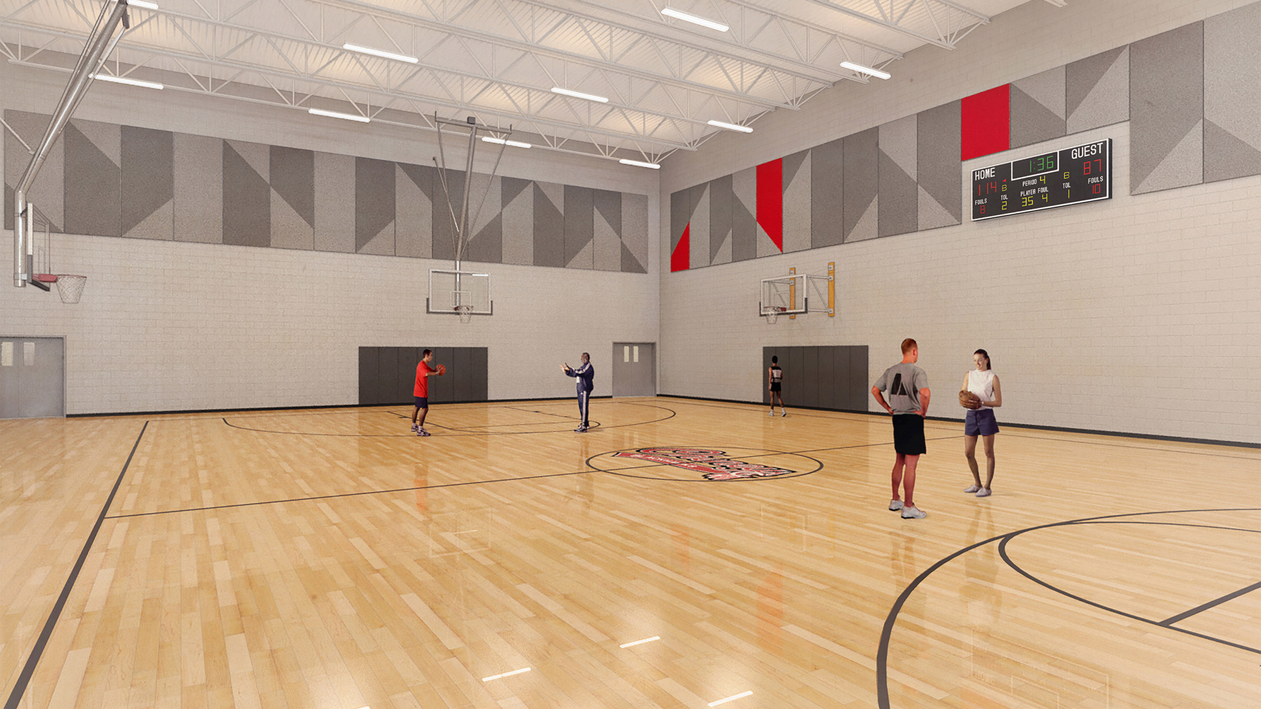 ALSC Architects CheneyHS Gym