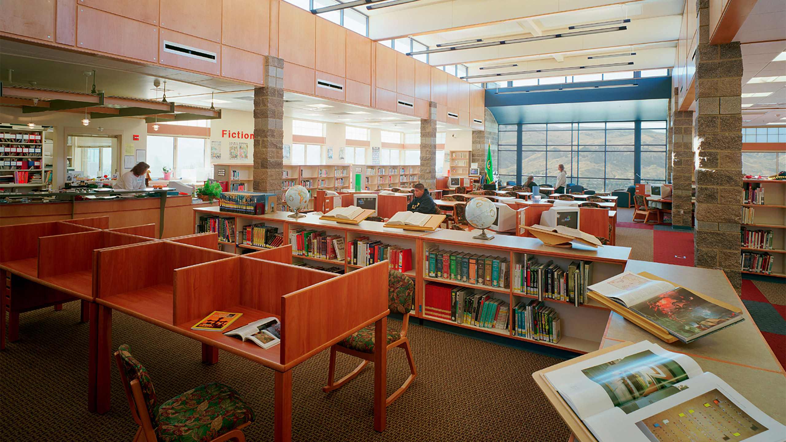 ALSC Architects EJHS Library