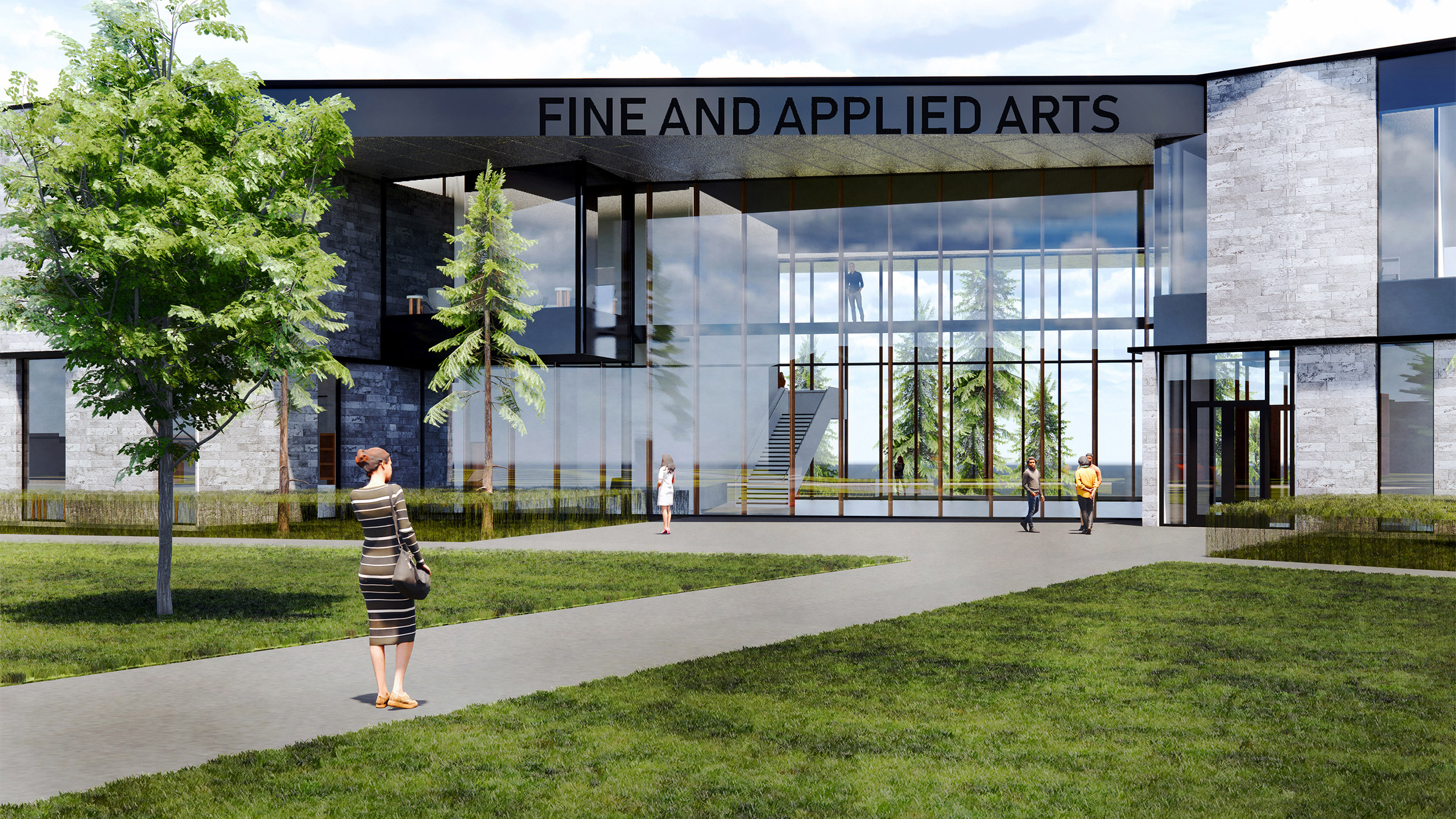 Fine Applied Arts Building Spokane Falls Community College Alsc Architects