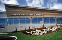 ALSC Architects | Gonzaga McCarthey Athletic Center, Exterior Signage