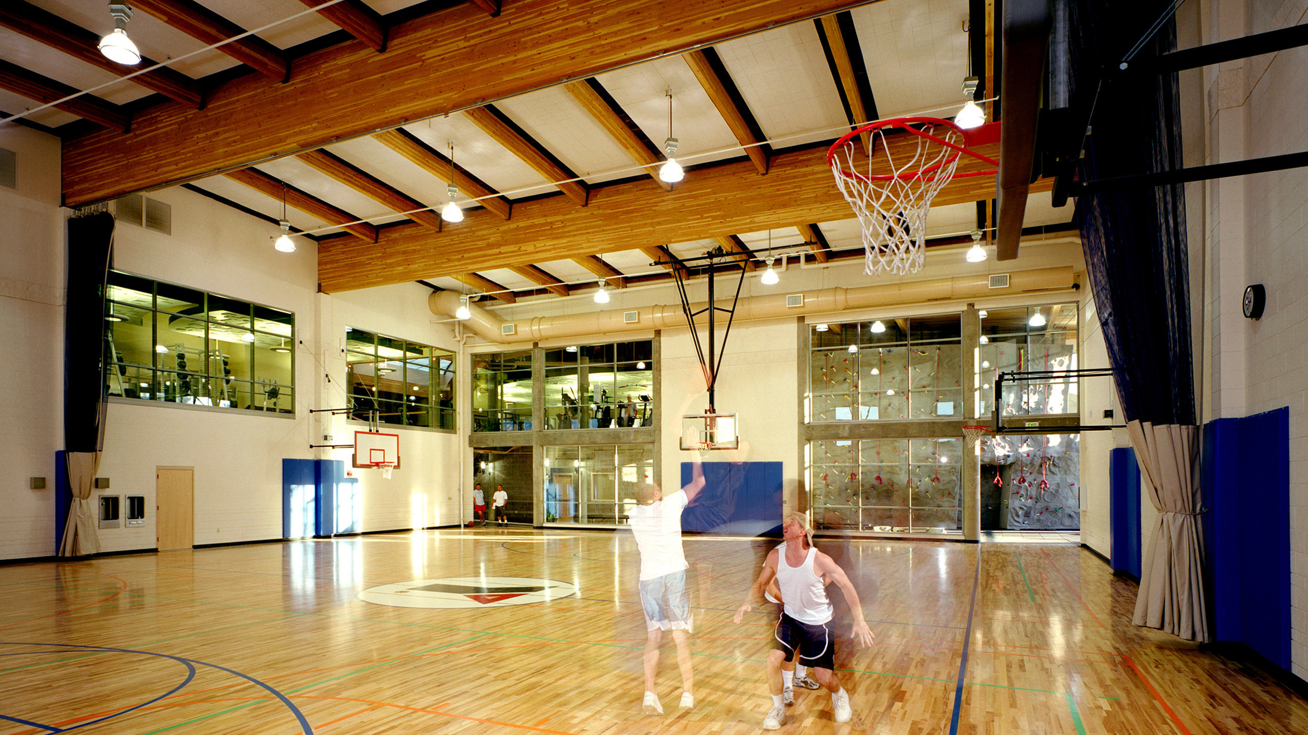 ALSC Architects YMCAValley Gym