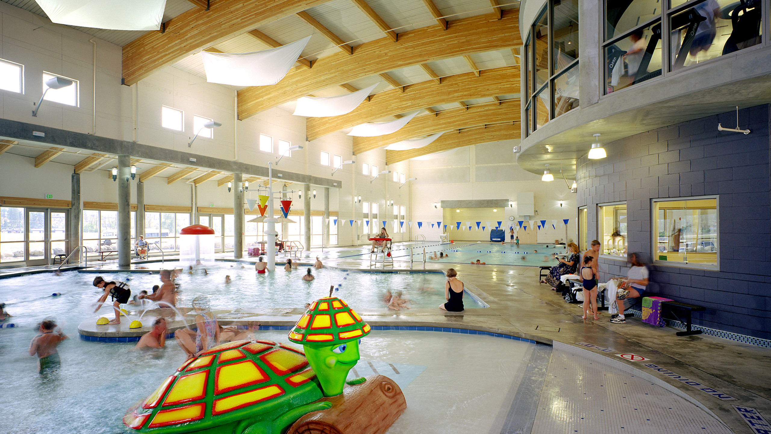ALSC Architects YMCAValley KidsPool