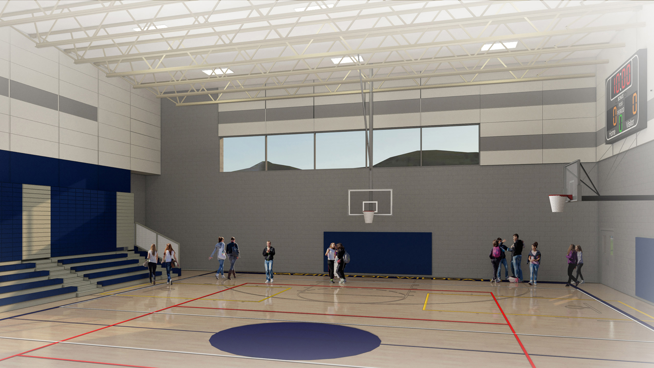 ALSC Architects WAMS Gym