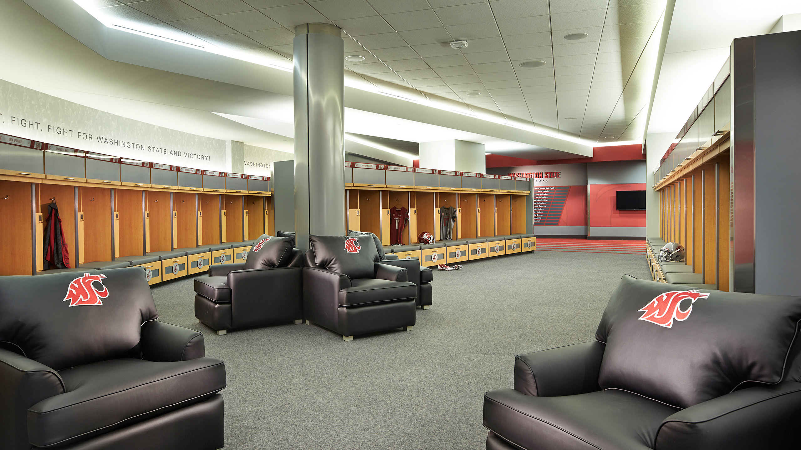 ALSC Architects WSUFootball Lockers