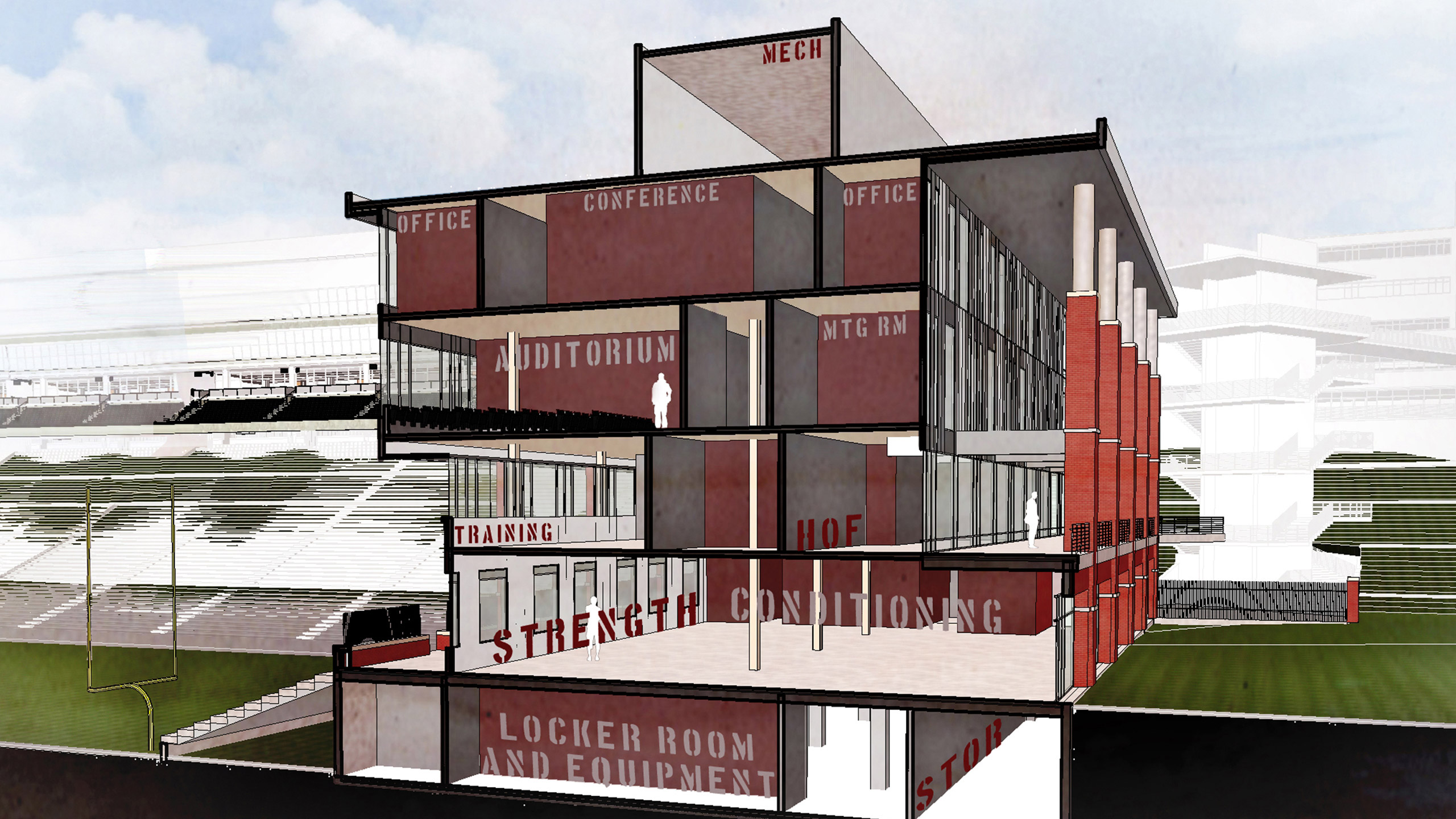 ALSC Architects WSUFootball Section