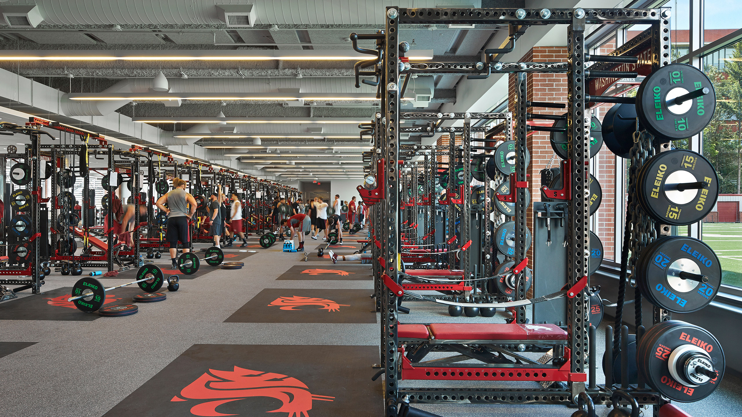 ALSC Architects WSUFootball Weights