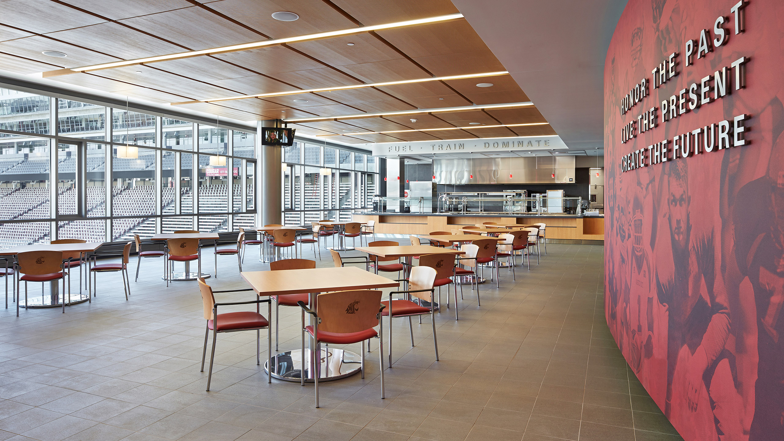 ALSC Architects WSUFootball Dining