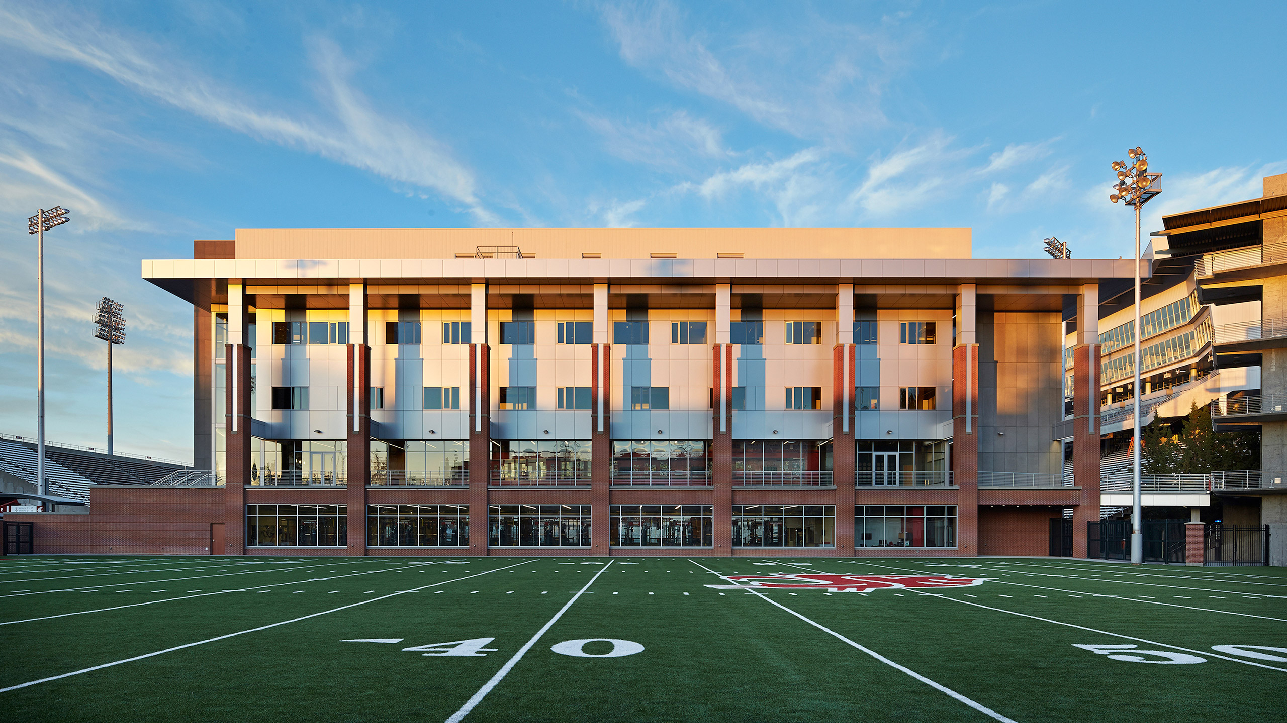 ALSC Architects WSUFootball ExteriorPracticeField