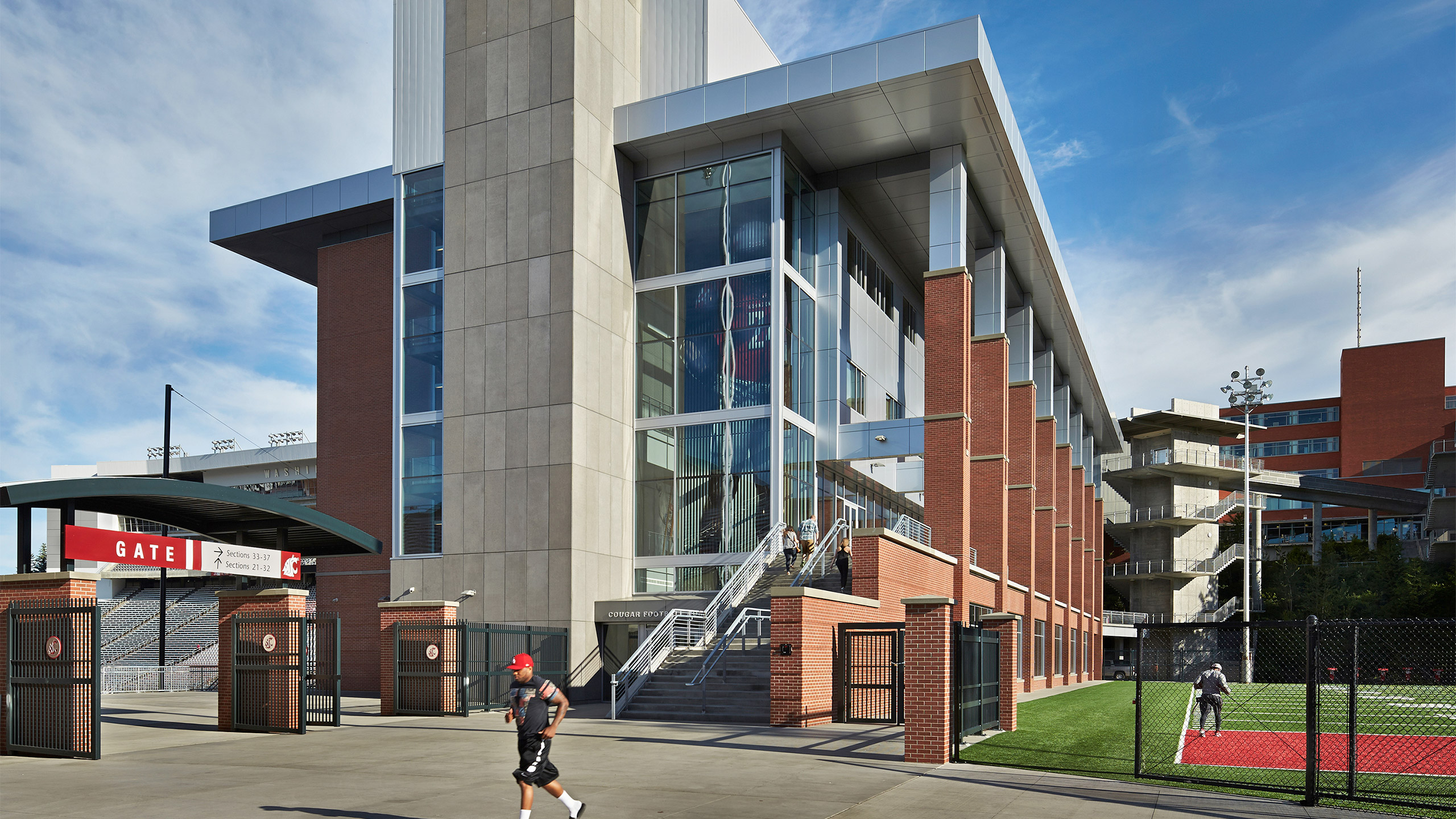 ALSC Architects WSUFootball StadiumEntry