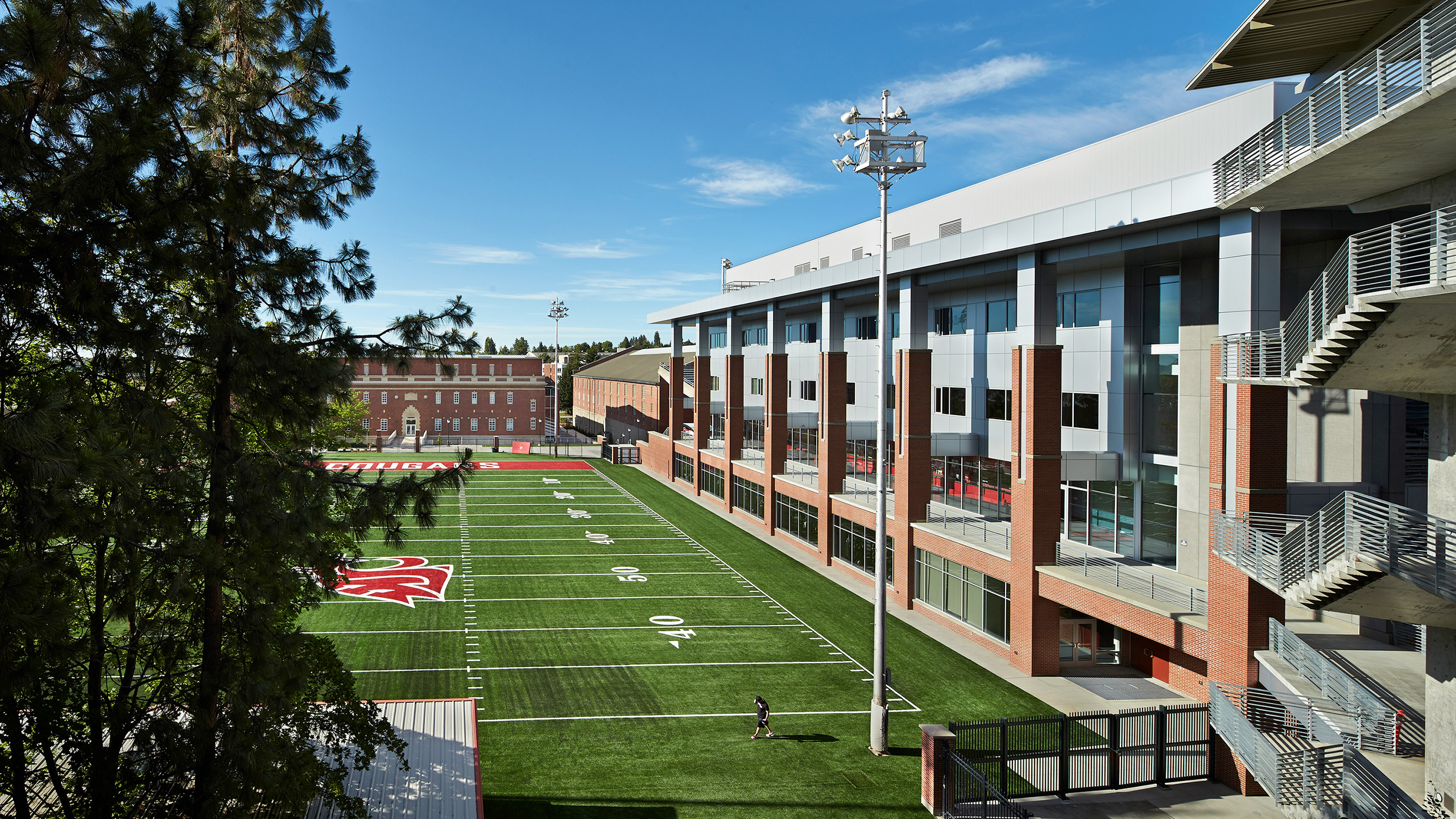 ALSC Architects WSUFootball StairView