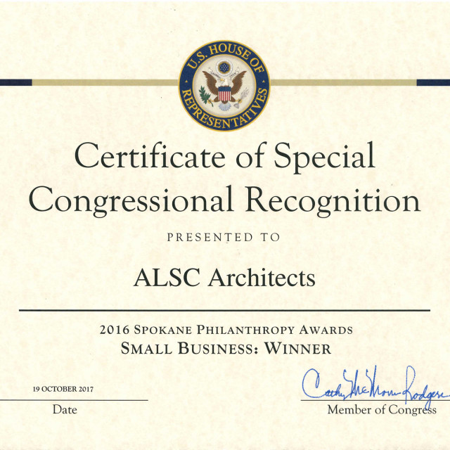 ALSC Named Small Business of the Year By The Spokane County United Way Emerging Leaders Society​